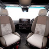 Swivel cab seats