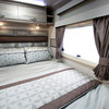 Rear double bed