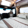 Front lounge double bed