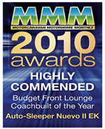 2010 Budget Front Lounge Coachbuilt Of The Year awards Nuevo II EK Highly Commended