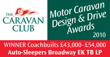Coachbuilts £43,000 - £54,000 awards Broadway EK TB LP Winner