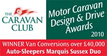 Van Conversions over £40,000 awards Sussex Duo Winner
