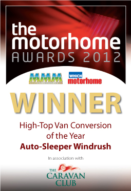 High-Top Van Conversion of the Year awards Windrush Winner