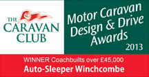 Coachbuilts Over £45,000 awards Winchcombe Winner