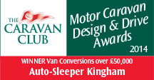 Van Conversions over £50,000 awards Kingham Winner