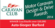 Coachbuilts over £60,000 awards Burford Winner