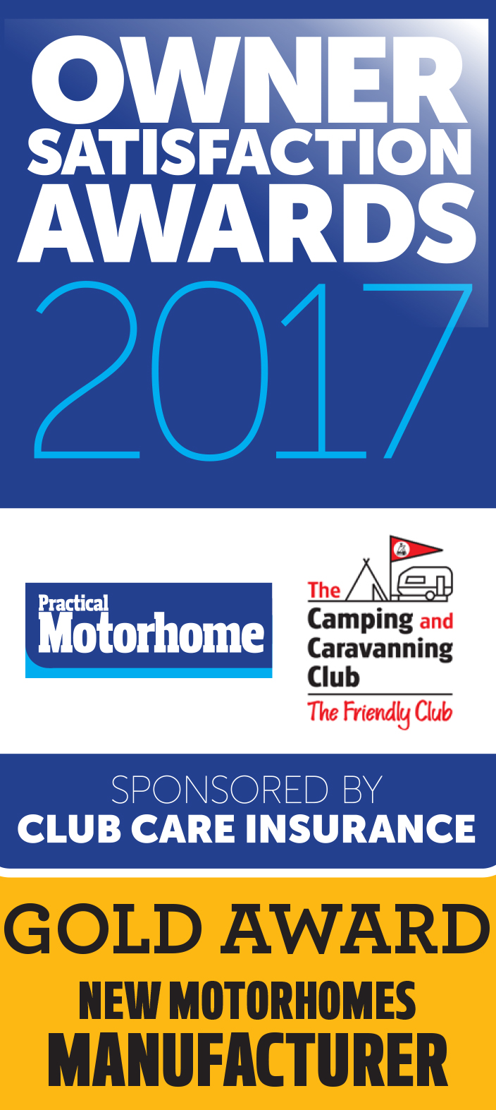 New Motorhomes Manufacturer awards