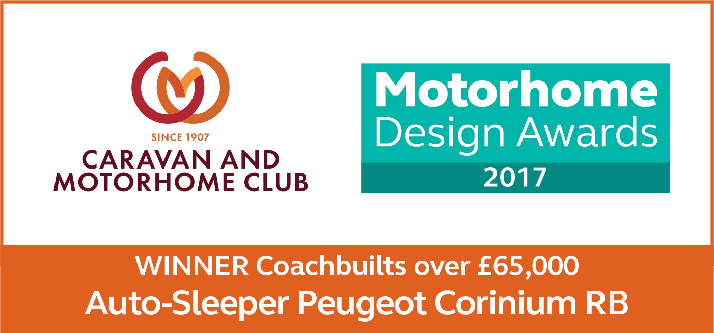 Coachbuilts Over £65,000 awards Corinium RB Winner