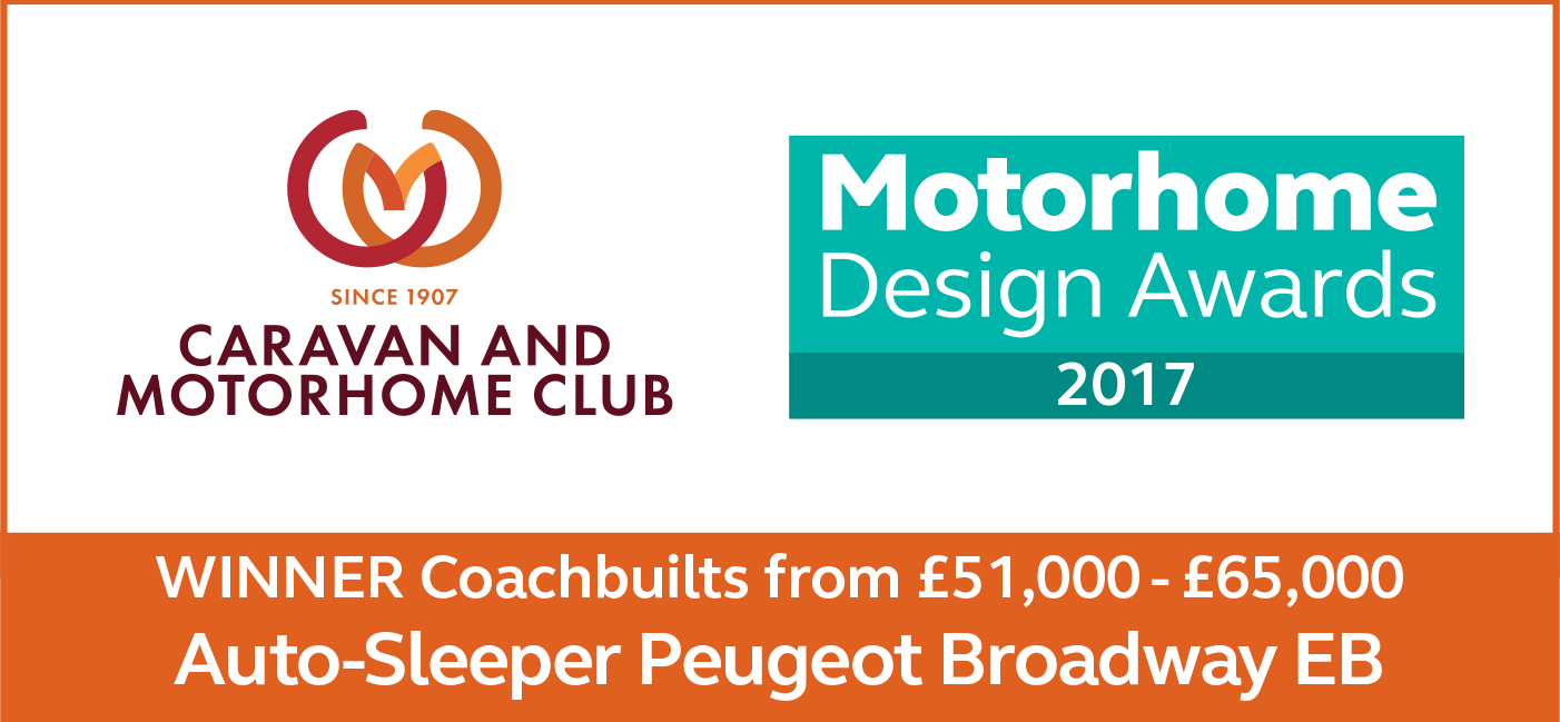 Coachbuilts From £51,000 - £65,000 awards Broadway EB Winner