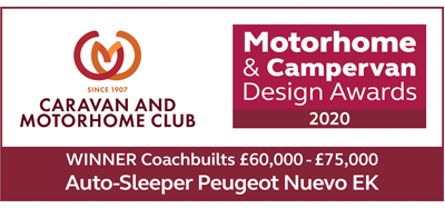 Coachbuilts £60,000 - £75,000 awards Nuevo EK Winner