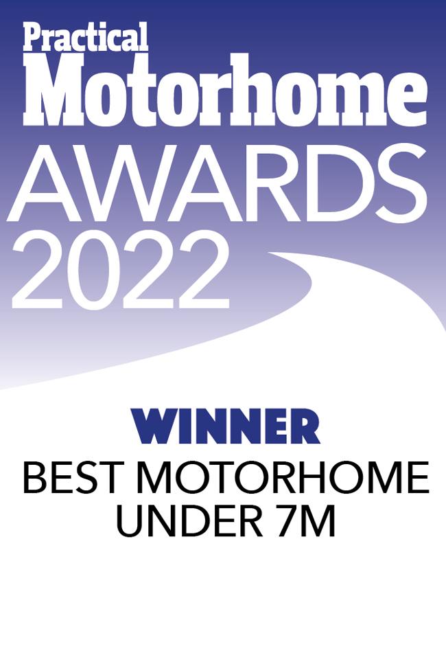 Best Motorhome Under 7M awards Broadway EL Winner