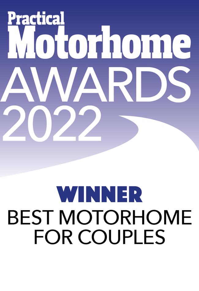 Best Motorhome For Couples awards Nuevo EK Winner