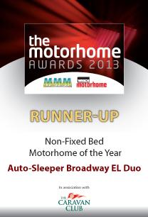 Autosleeper Broadway EL Duo