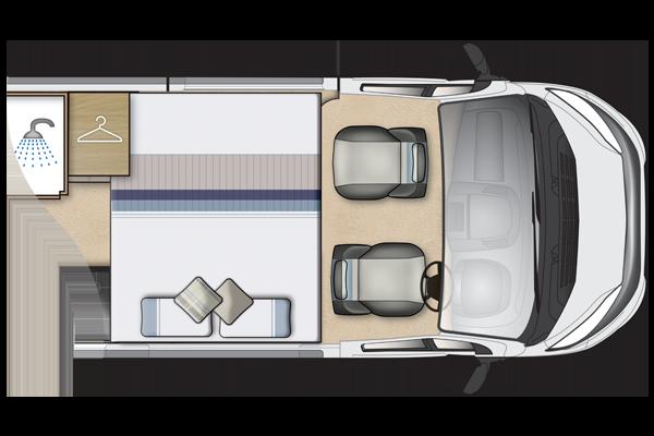Symbol Peugeot Van Conversion Auto Sleeper Motorhomes