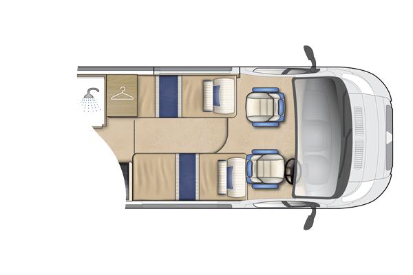Symbol Peugeot Van Conversion Auto Sleepers