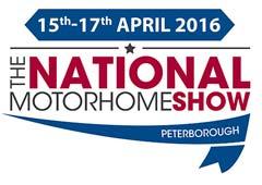 National Motorhome Show Peterborough Logo