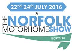 Norfolk Motorhome Show Logo 2016 Image