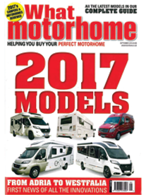 What Motorhome September Front Cover
