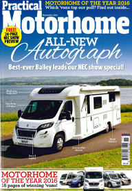 Practical Motorhome November 2016 Front Cover Image