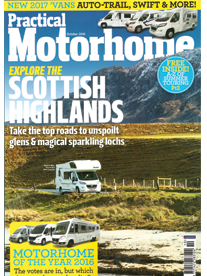 Practical Motorhome September 16 Front Cover Image