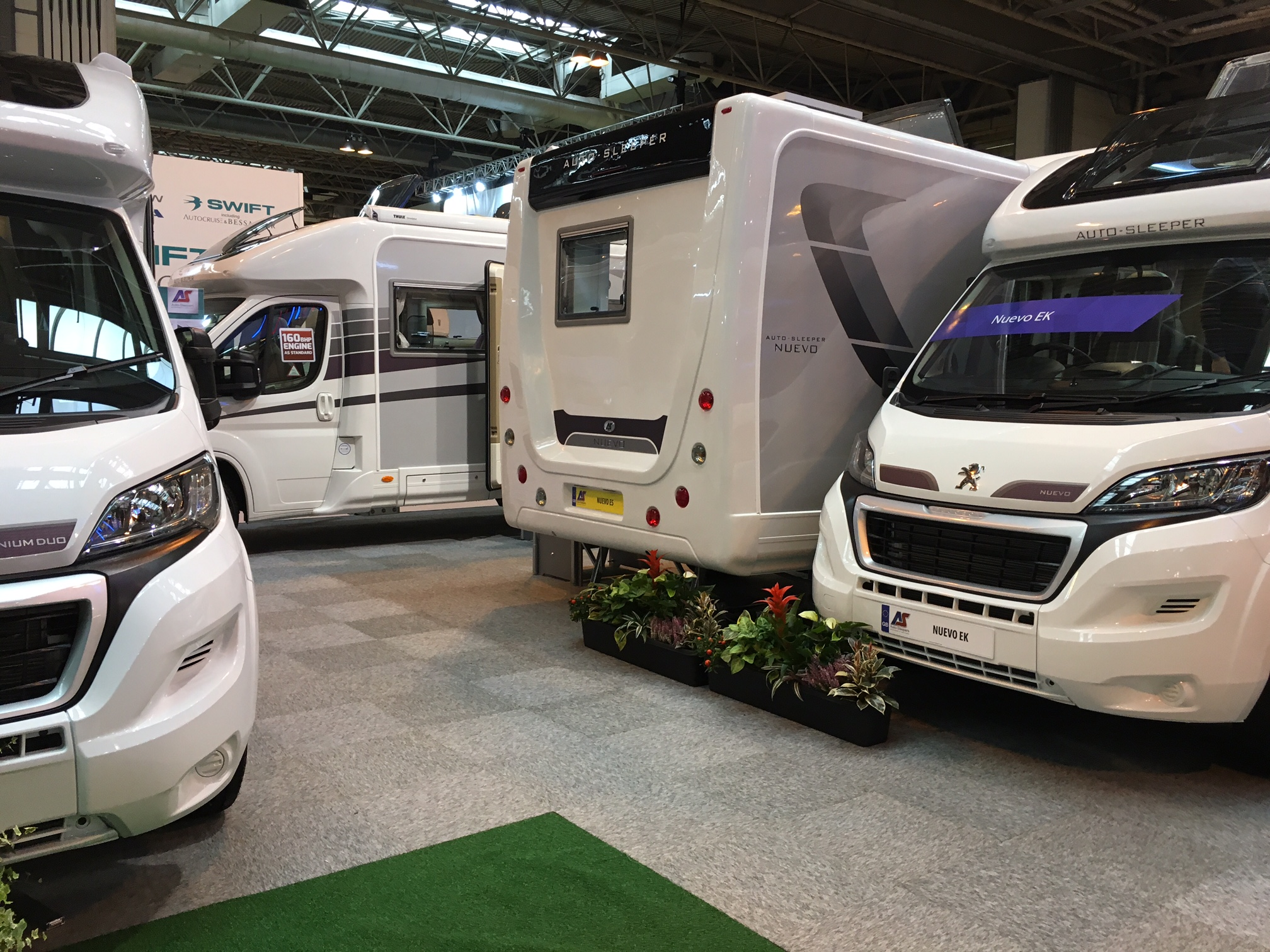 Unique Practical Motorhome  Check Out 201639s NEC Show Stars  48