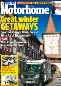Practical Motorhome January 2017 Front Cover Image
