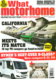 What Motorhome Front Cover Dec16