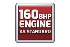 160bhp Logo