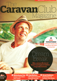 The Caravan Club January Front Cover