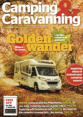 Camping & Caravanning Golden Wander Front Cover Image