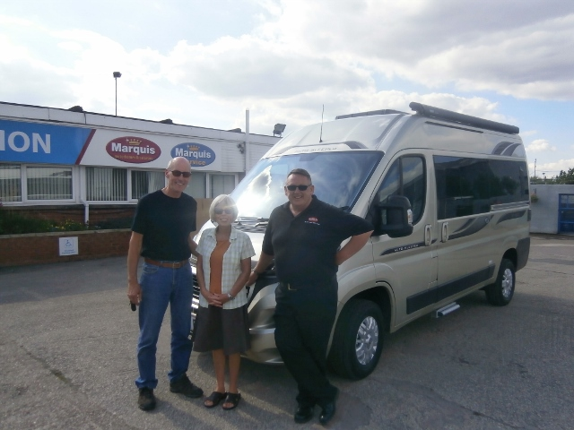 Mr and Mrs Revitt Collect Auto-Sleeper Symbol Image