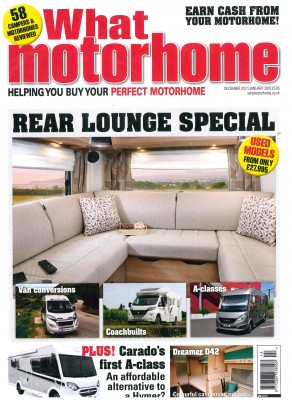 What Motorhome December - January 2018 Front Cover Image
