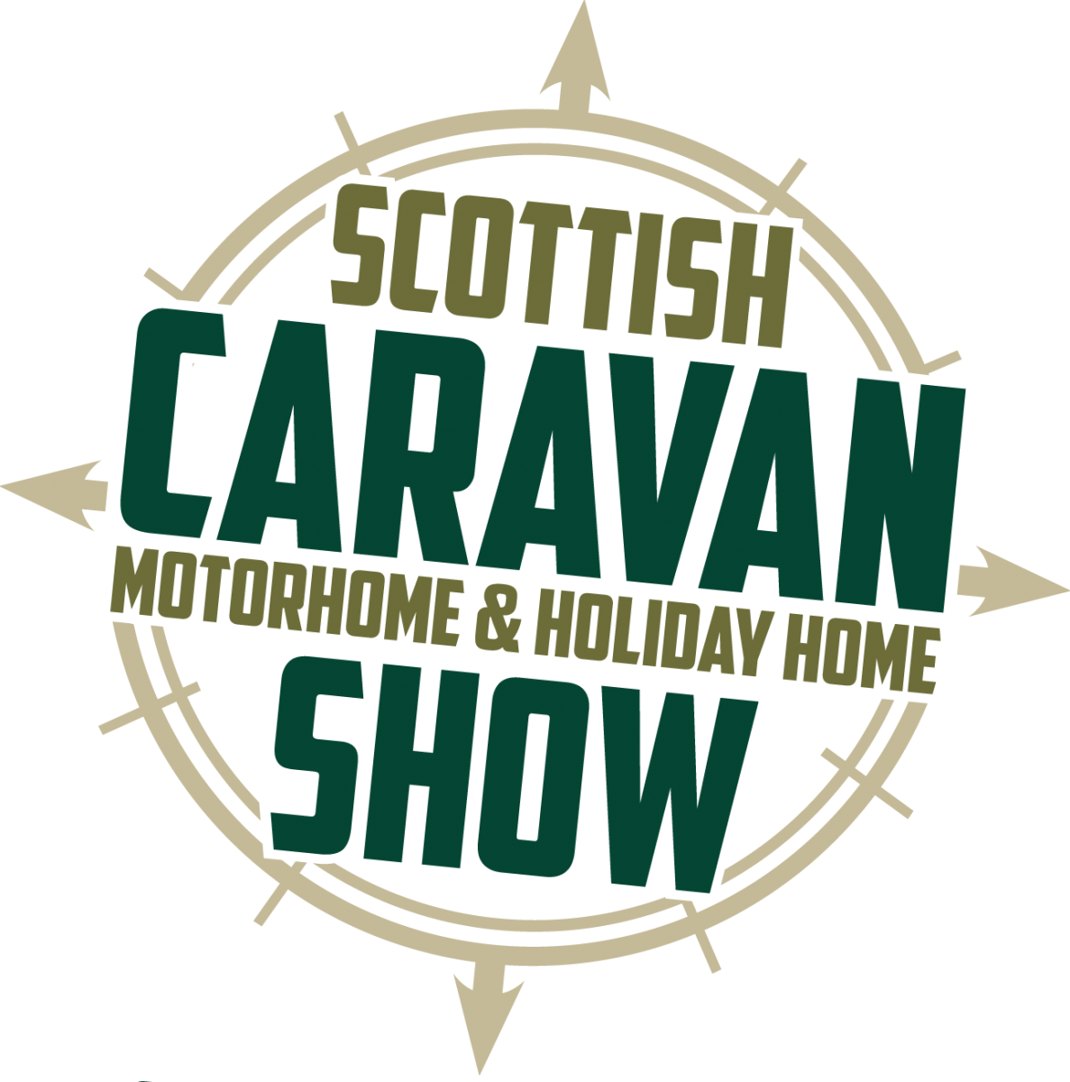 Scottish Caravan, Motorhome & Holiday Home Show 2018 Logo 2