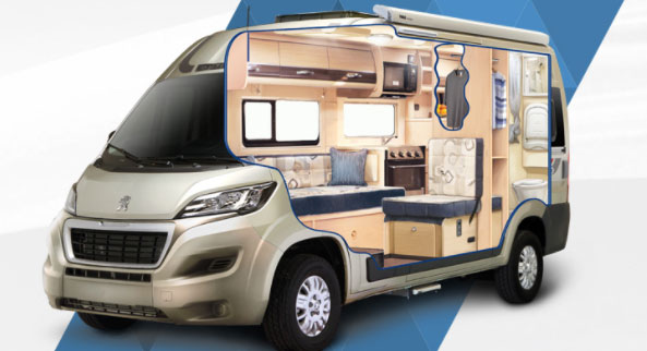 camper van conversion considerations news auto sleepers. Black Bedroom Furniture Sets. Home Design Ideas