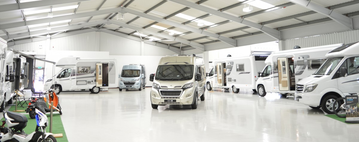 Nick Whale Motorhomes Showroom Image