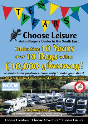 Choose Leisure Ten Years Event 2018