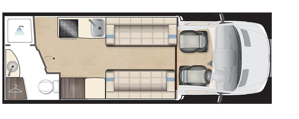 Winchcombe Daytime floorplan