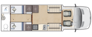 Burford Duo Day Floorplan