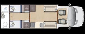 Burford Duo Day Floorplan