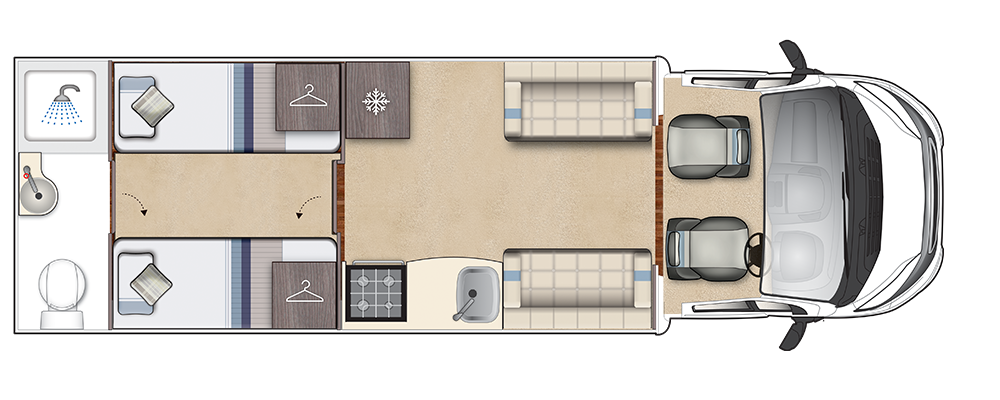 Corinium Duo Day Floorplan