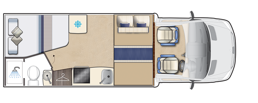 Malvern Night floorplan