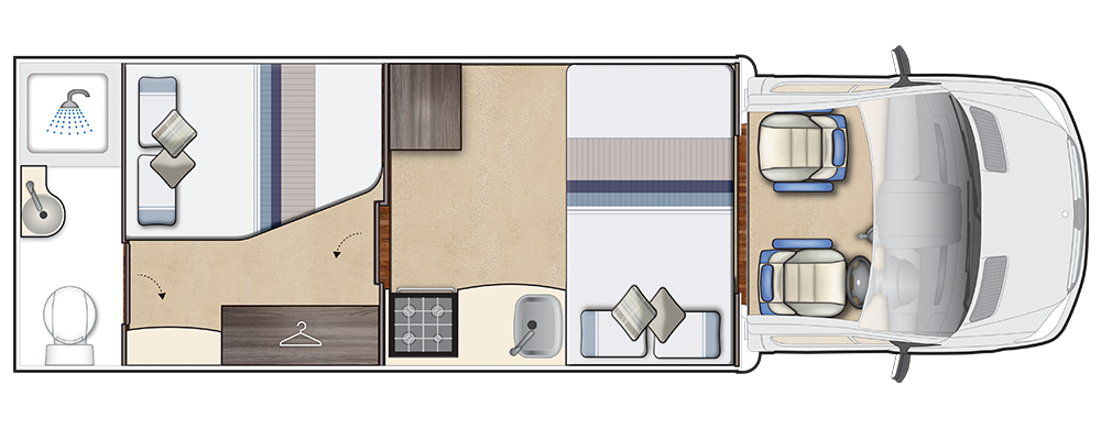 Burford Night Floorplan