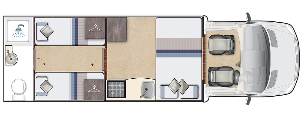 Burford Duo Night floorplan
