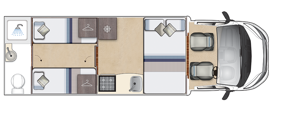 Corinium Duo Night Floorplan