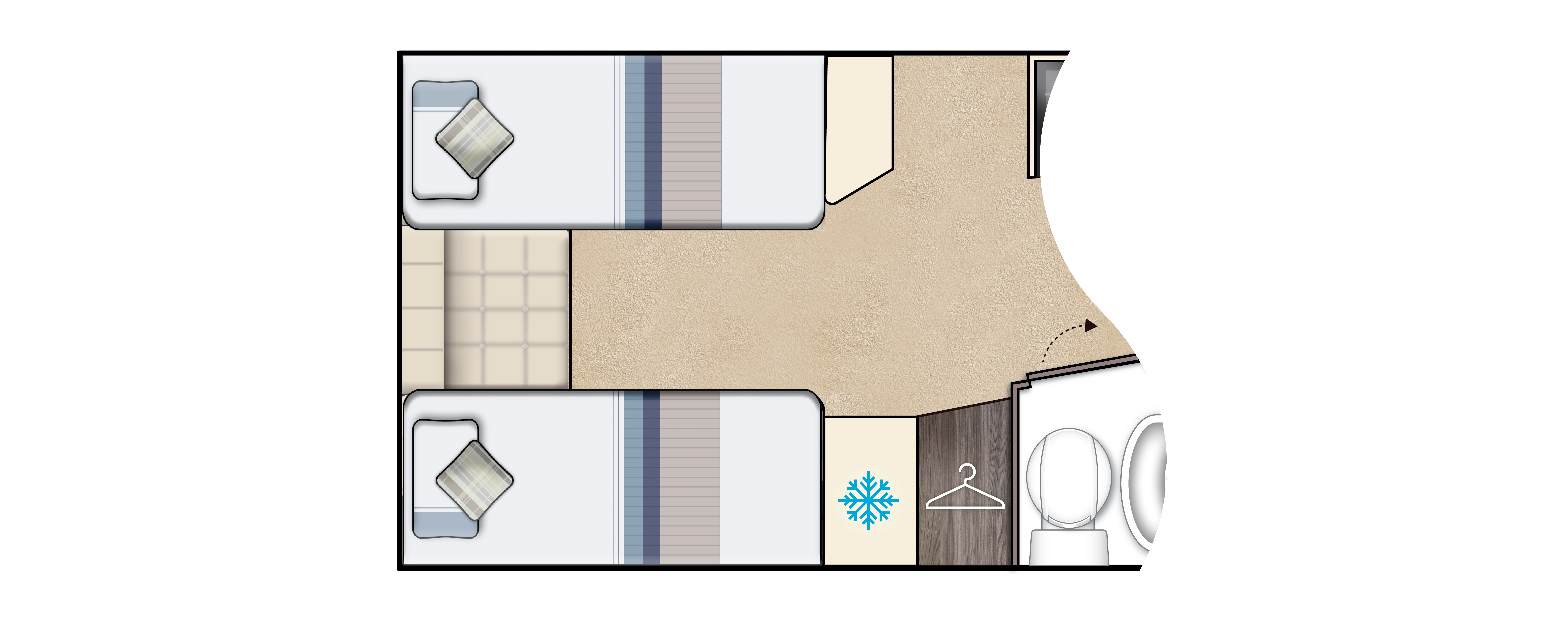 Broadway EL Optional floorplan