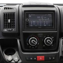 "7"" Touch screen SAT NAV, DAB radio and rear observation camera"