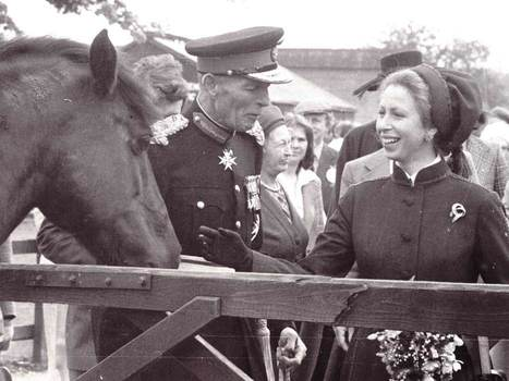 Archive shot of Princess Anne