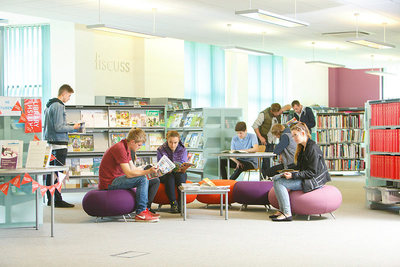 The Library in the Learning Resource Centre