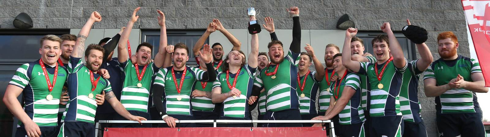 Bishop Burton rugby team win the BUCS national championships