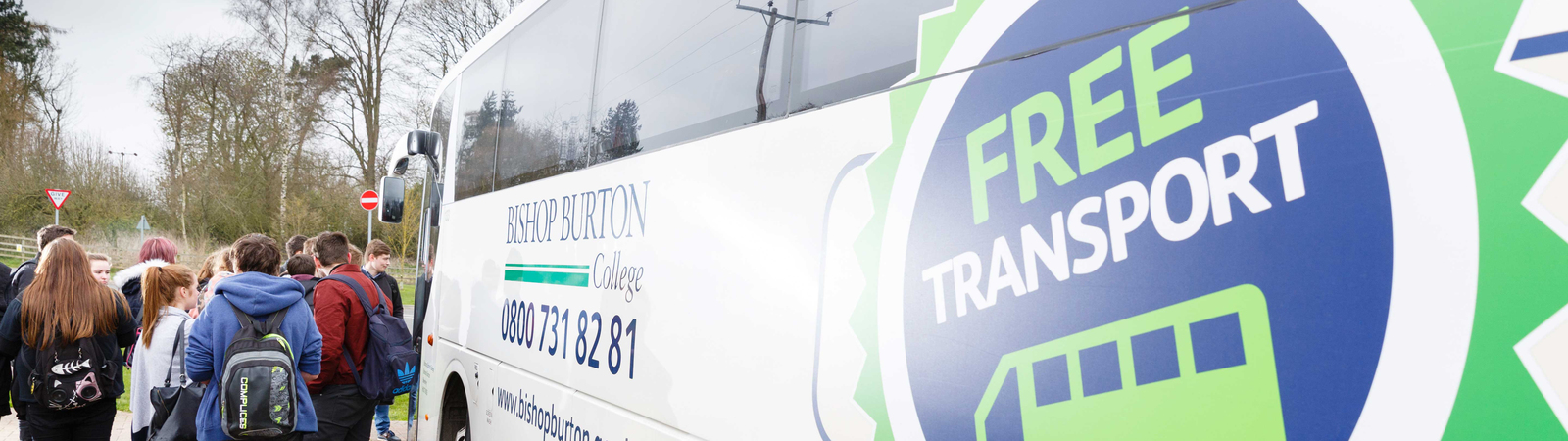 Free Transport to Bishop Burton College